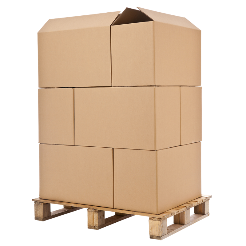 Crate stack png. Eurofit cartons heavy duty