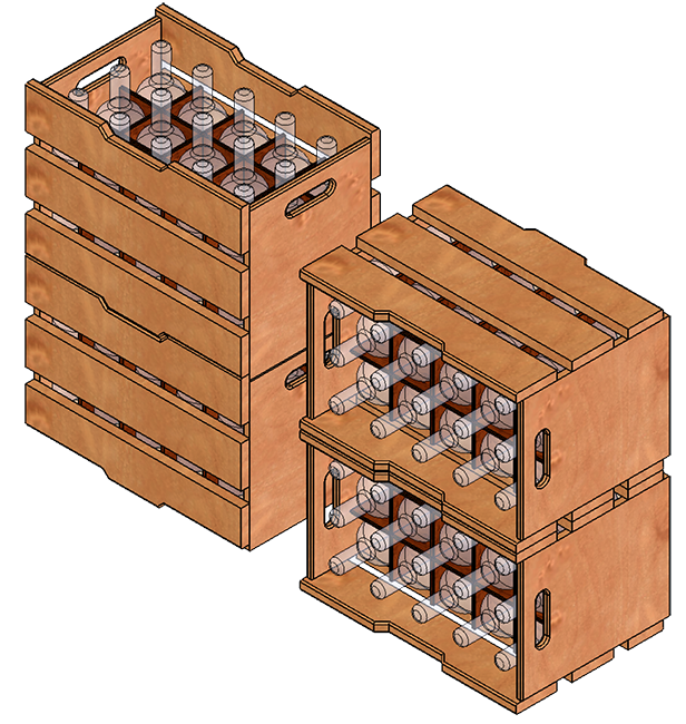 Crate stack png. Newmaster s wine crates