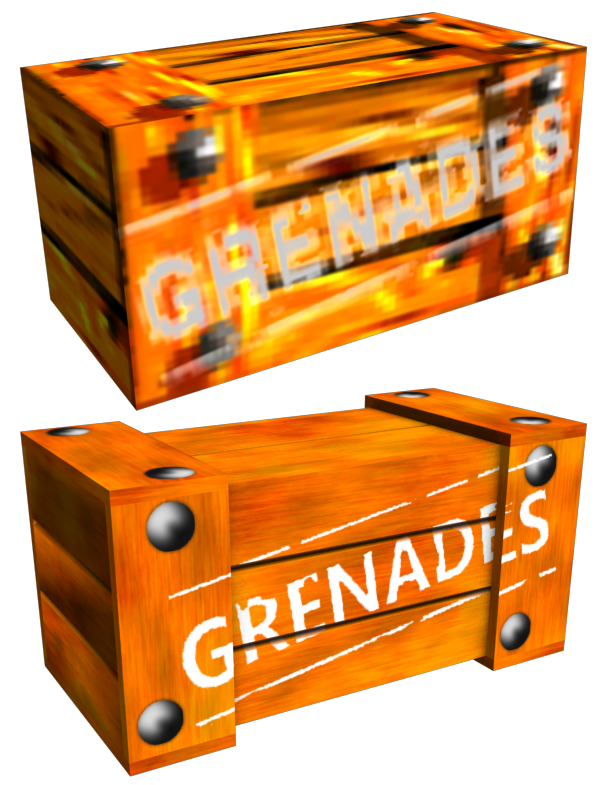 Crate texture png. Grenade complete image bad