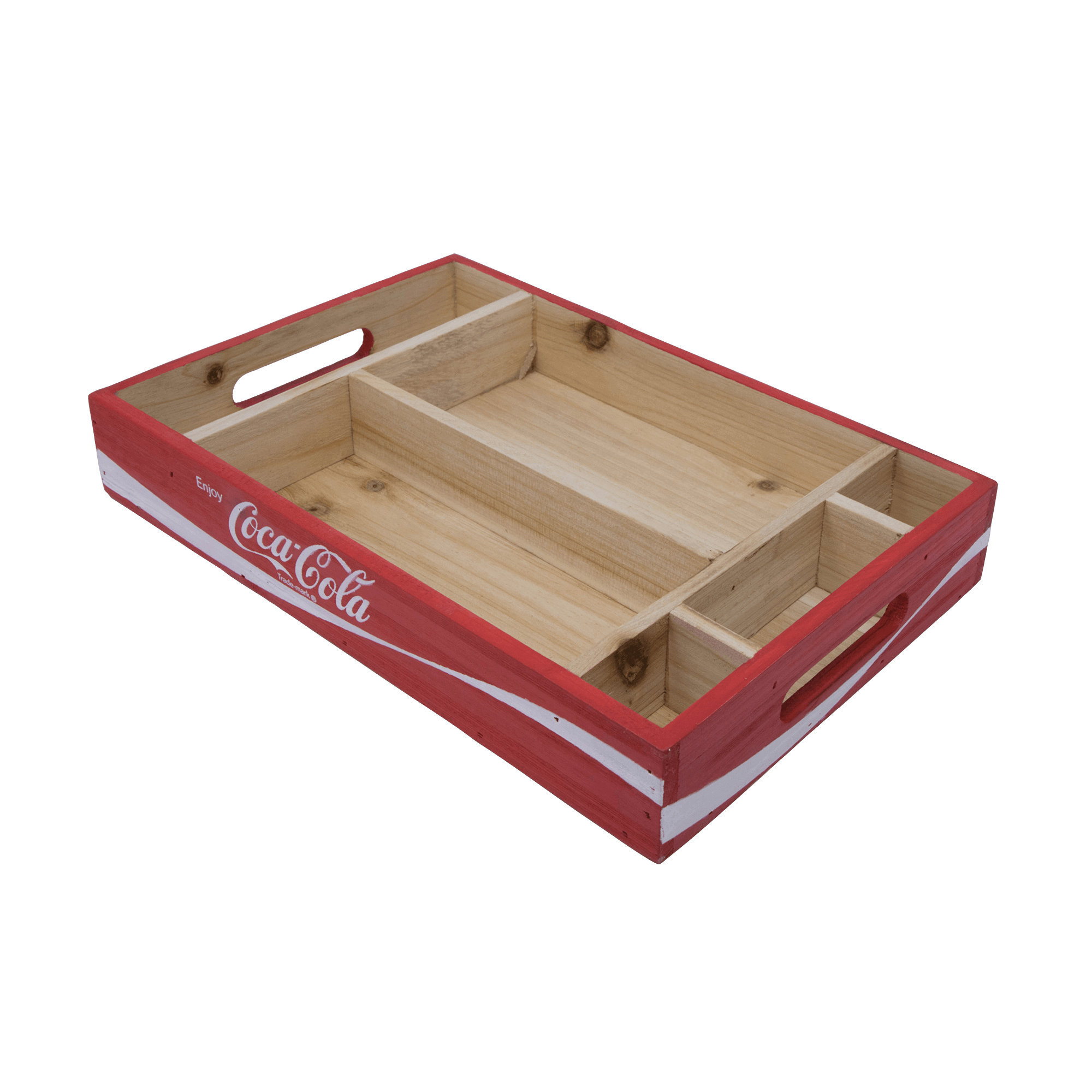 Vintage coca cola crate png. Divided tray coke store