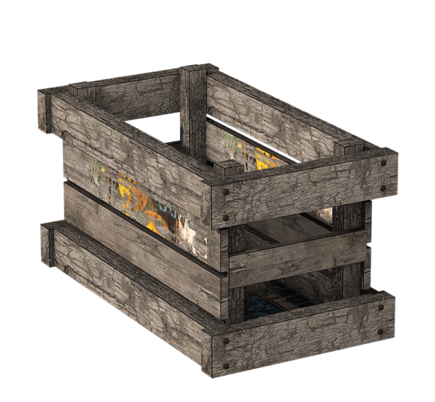 Crate top png. Box wooden free images