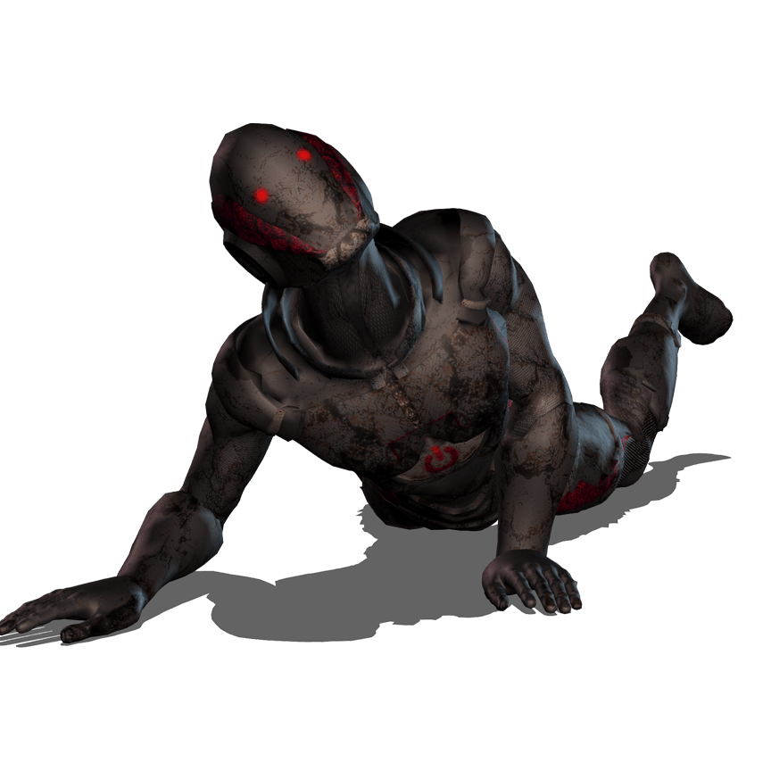 Icl starter d character. Crawling zombie png clip transparent library