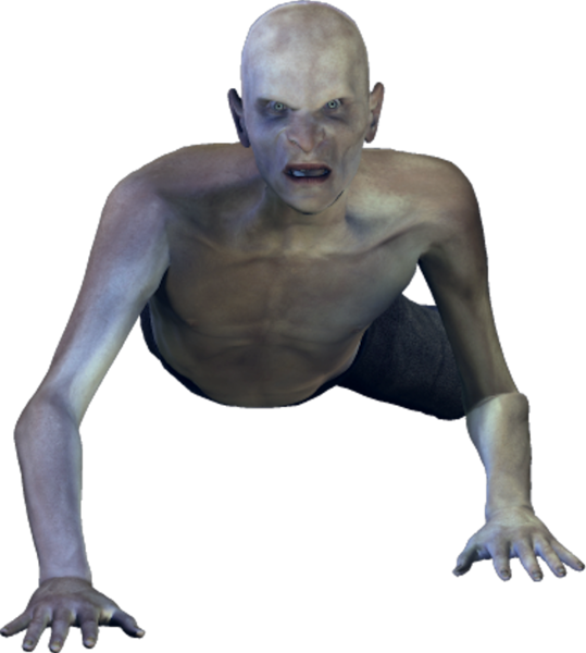 Crawling zombie png. Psd official psds share