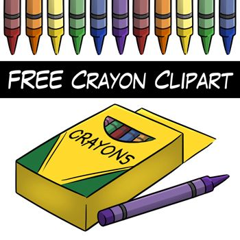 Crayon clipart cryons. Free from digital classroom