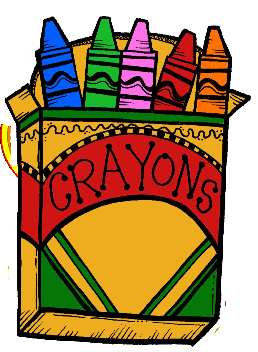 Crayon clipart cryons. Fresh collection digital c