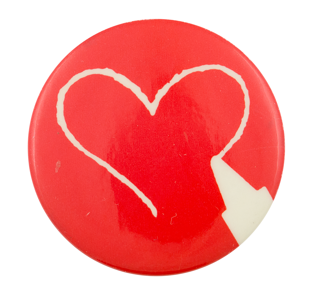 Crayon heart png. Busy beaver button museum