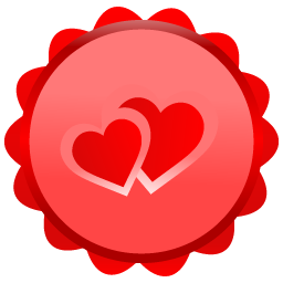 Crayon heart png. Royalty free stock images