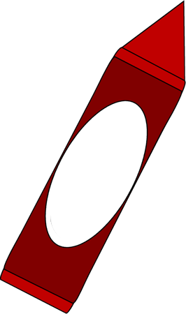 red crayon png