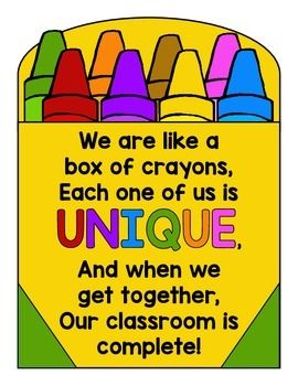 Crayons clipart playgroup. Back to school activity