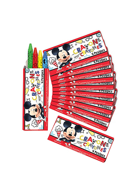 Crayons transparent animated. Mickey mouse on the