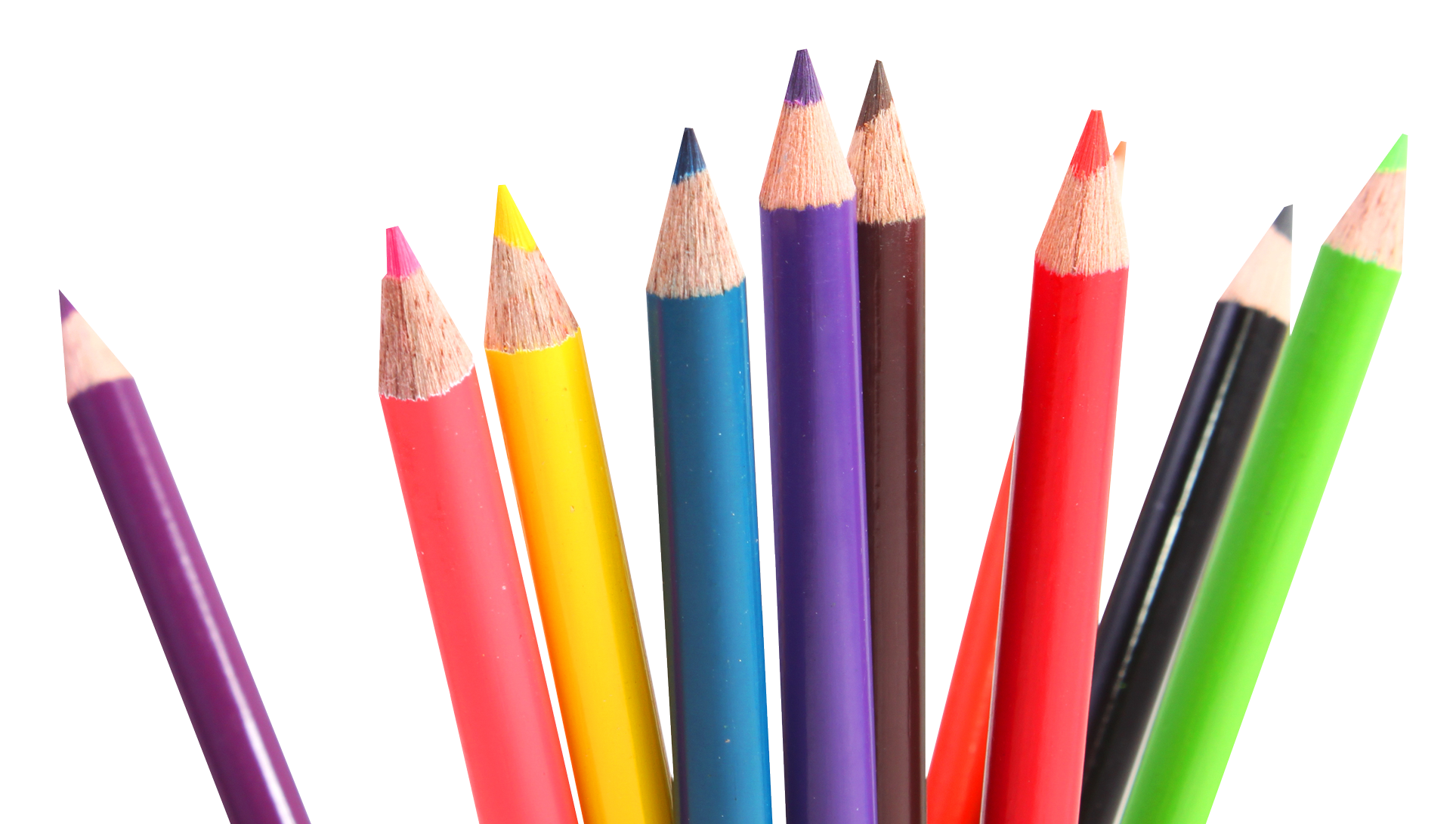 Crayons transparent many. Multicolor png image best