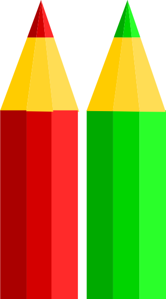 Crayons transparent two. Pencils clip art
