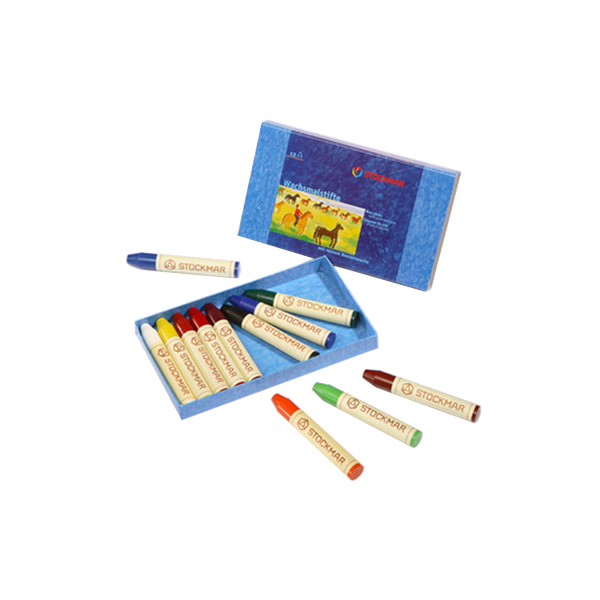 Crayons transparent two. Stockmar wax stick assorted