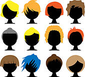 Brown hair panda free. Crazy clipart crazy wig graphic freeuse library