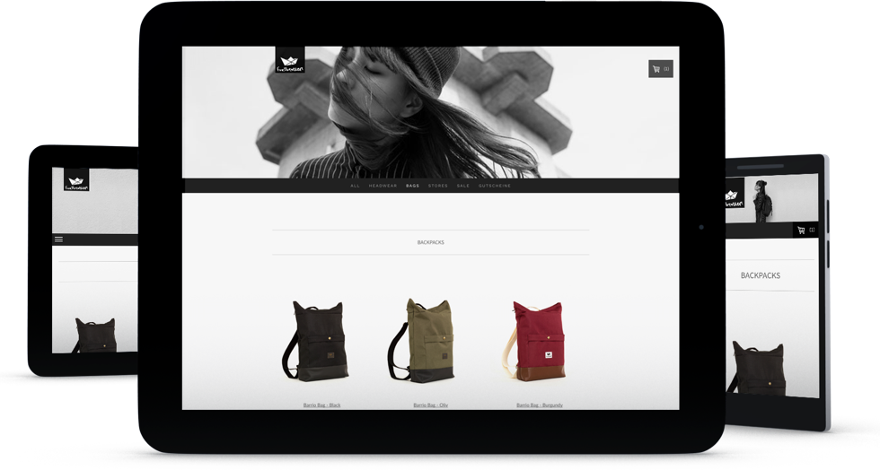 Create a png image online. An shop ecommerce website