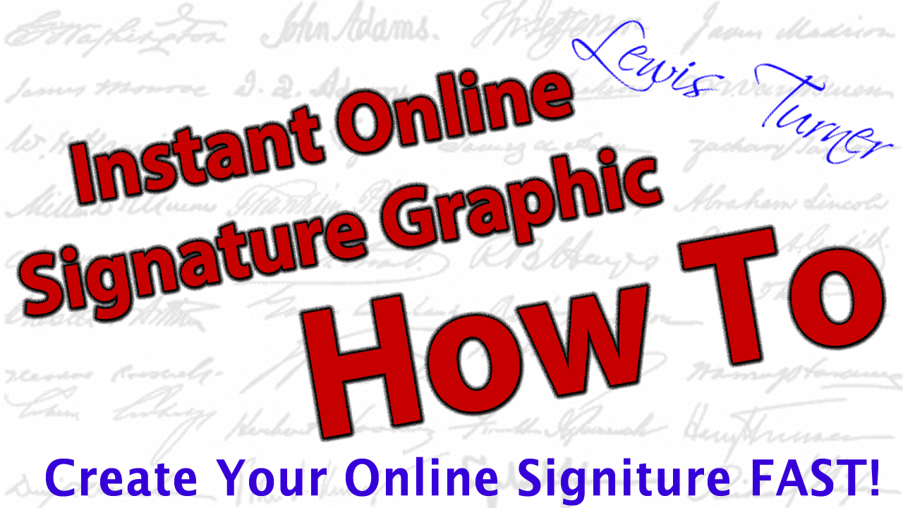 Create a transparent png online. How to realistic signature
