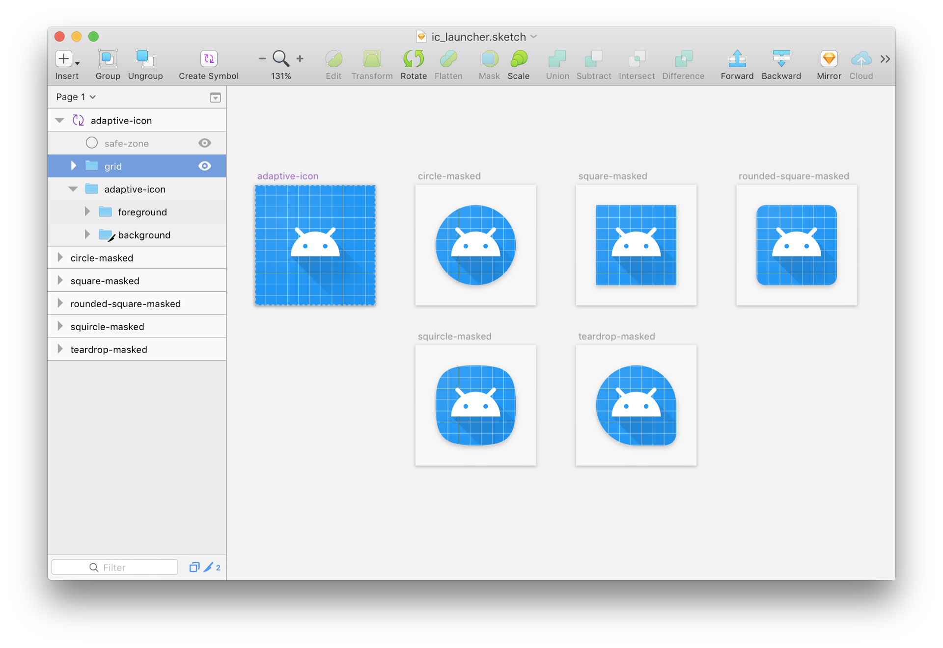Create an icon file from png. Designing adaptive icons google