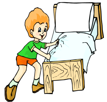 Create clipart bed. Make