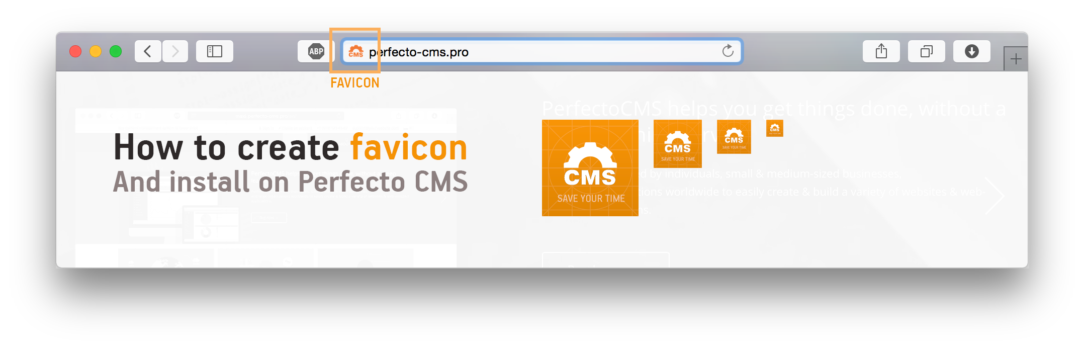 Create favicon from png. How to add creating
