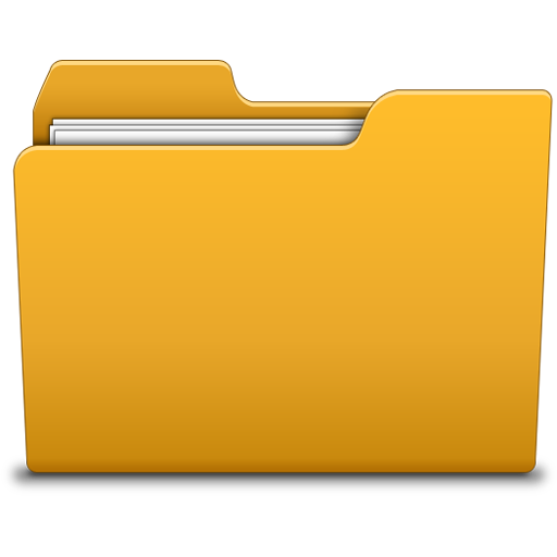 Folder png. Creating quizzes and questions
