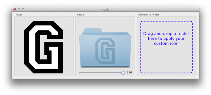 Create mac icon from png. Iconic custom folder icons