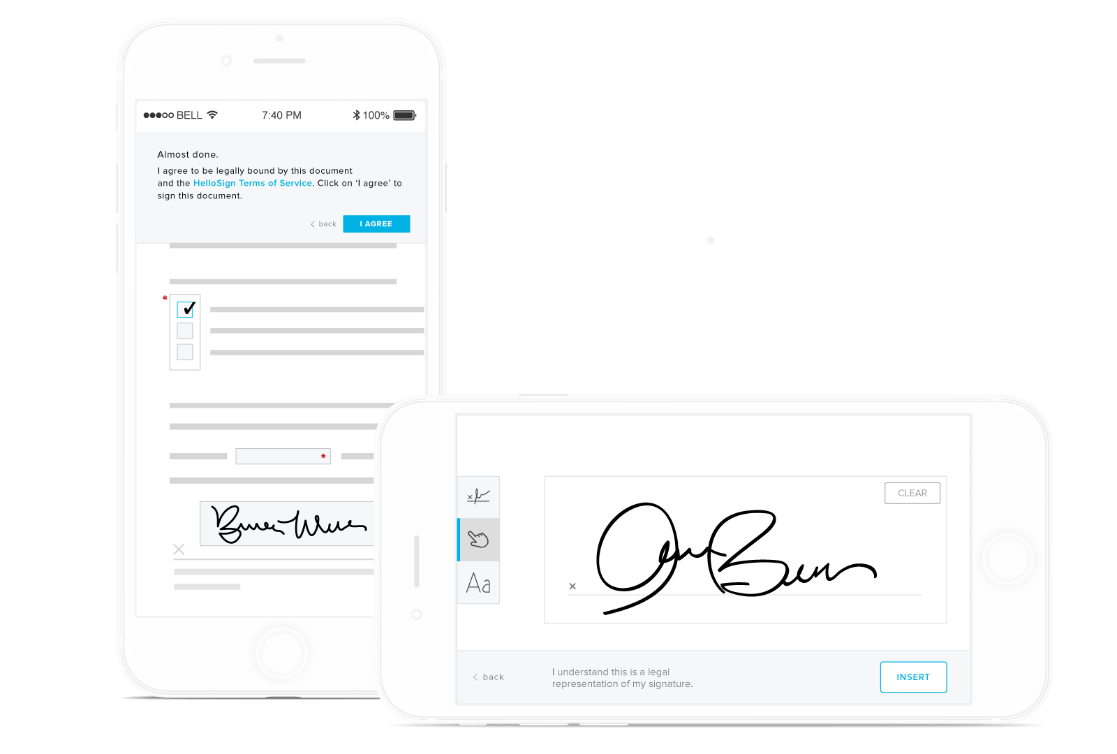 Create online signature png. Legally binding electronic signatures