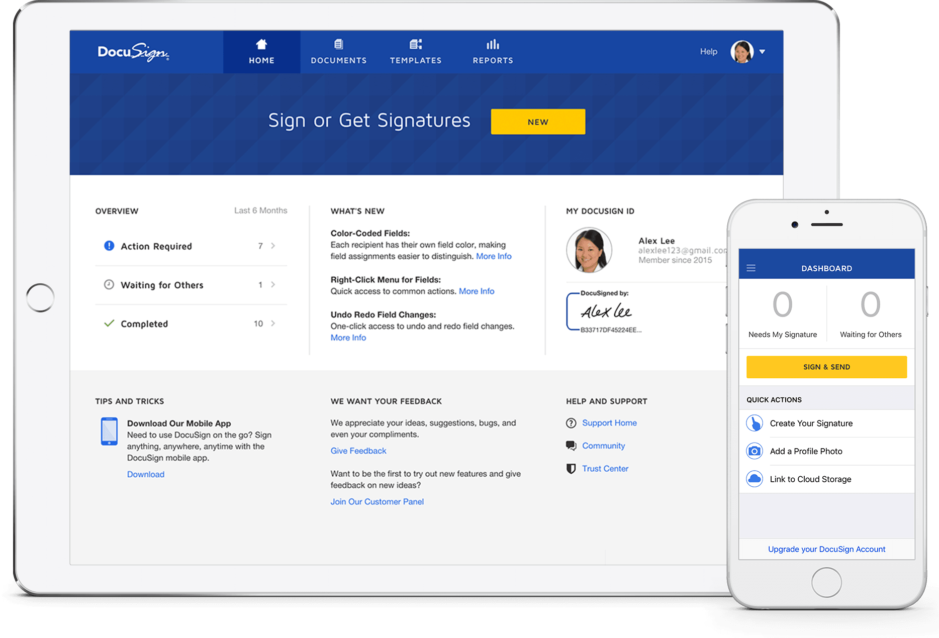 Create online signature png. Docusign electronic industry leader