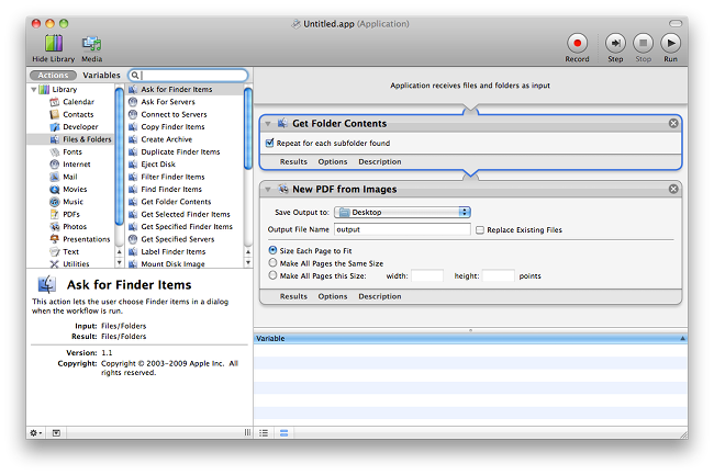 Create pdf from multiple png. Macos how to batch