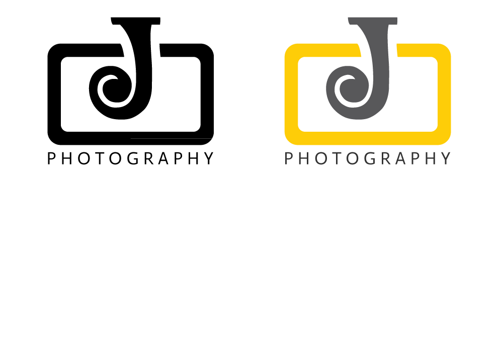 Create photography logo template free png. J graphic and web