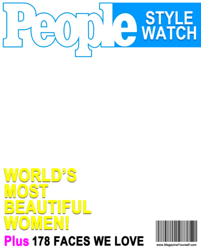 Create png image. Magazine covers transparent images