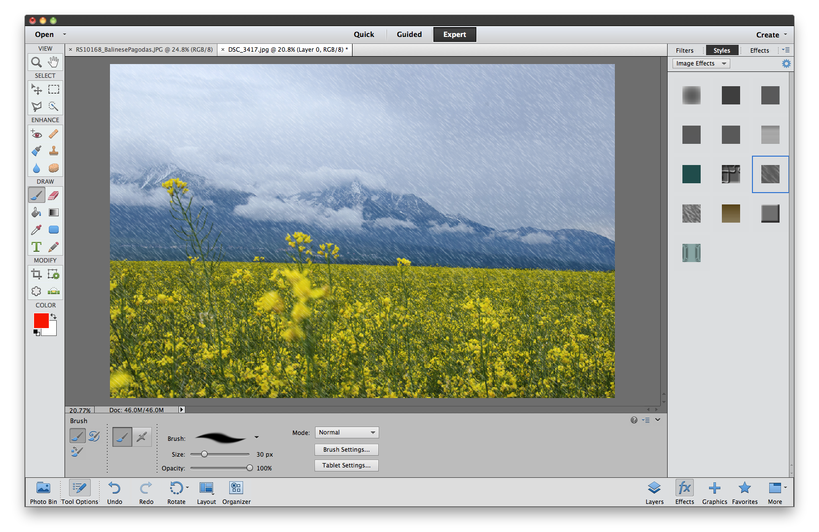Create png image in photoshop. How to apply an
