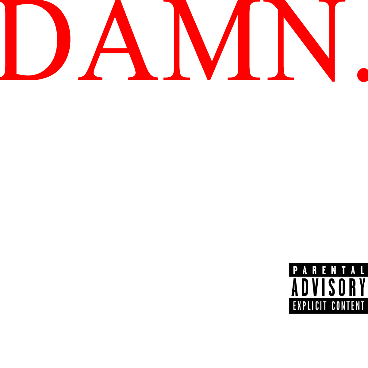 Create text png. Like the new kendrick