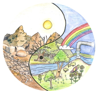 Creation clipart created god world. Valuing s water is