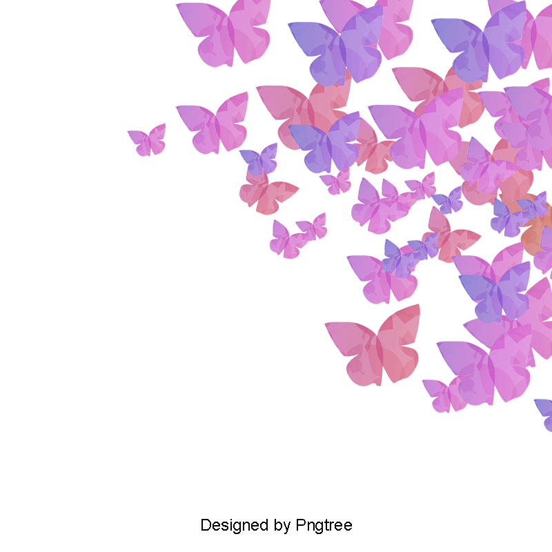 Creative backgrounds png. Butterfly background clipart purple