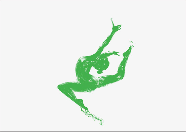 Creative clipart creative dance. Pictures dancing green png