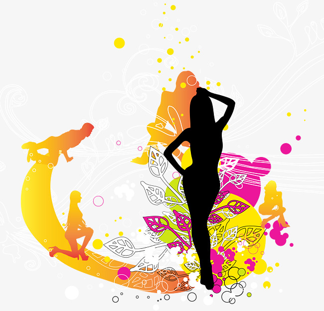 Creative clipart creative dance. Poster background leaflets action