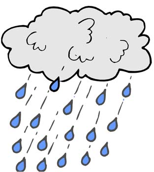 Creatures clipart rainy. Rain facts science for