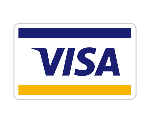 Visa card icon png. Charge credit debit payment
