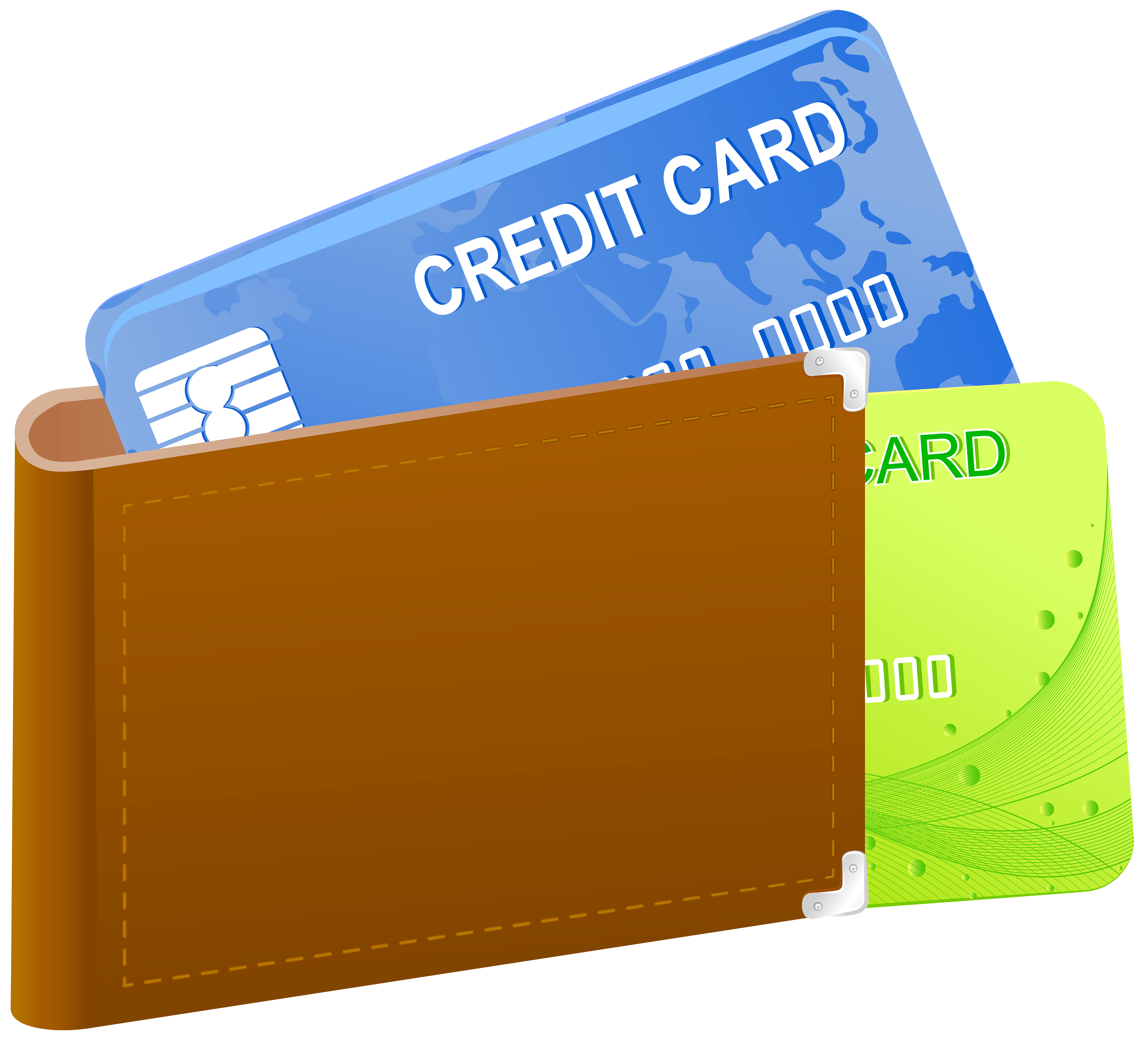 With credit cards png. Wallet clipart freeuse stock