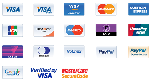 Credit card logos png. Payment icons collection devacron