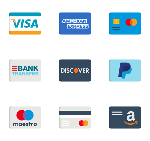 credit cards icons png