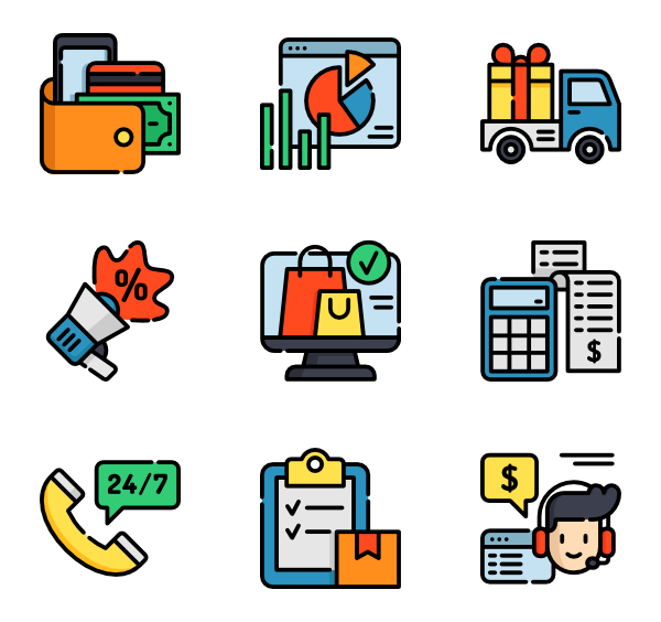 Free icons svg png. Colorful vector psd graphic library
