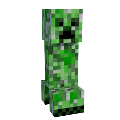 Creeper background png. Minecraft transparent stickpng