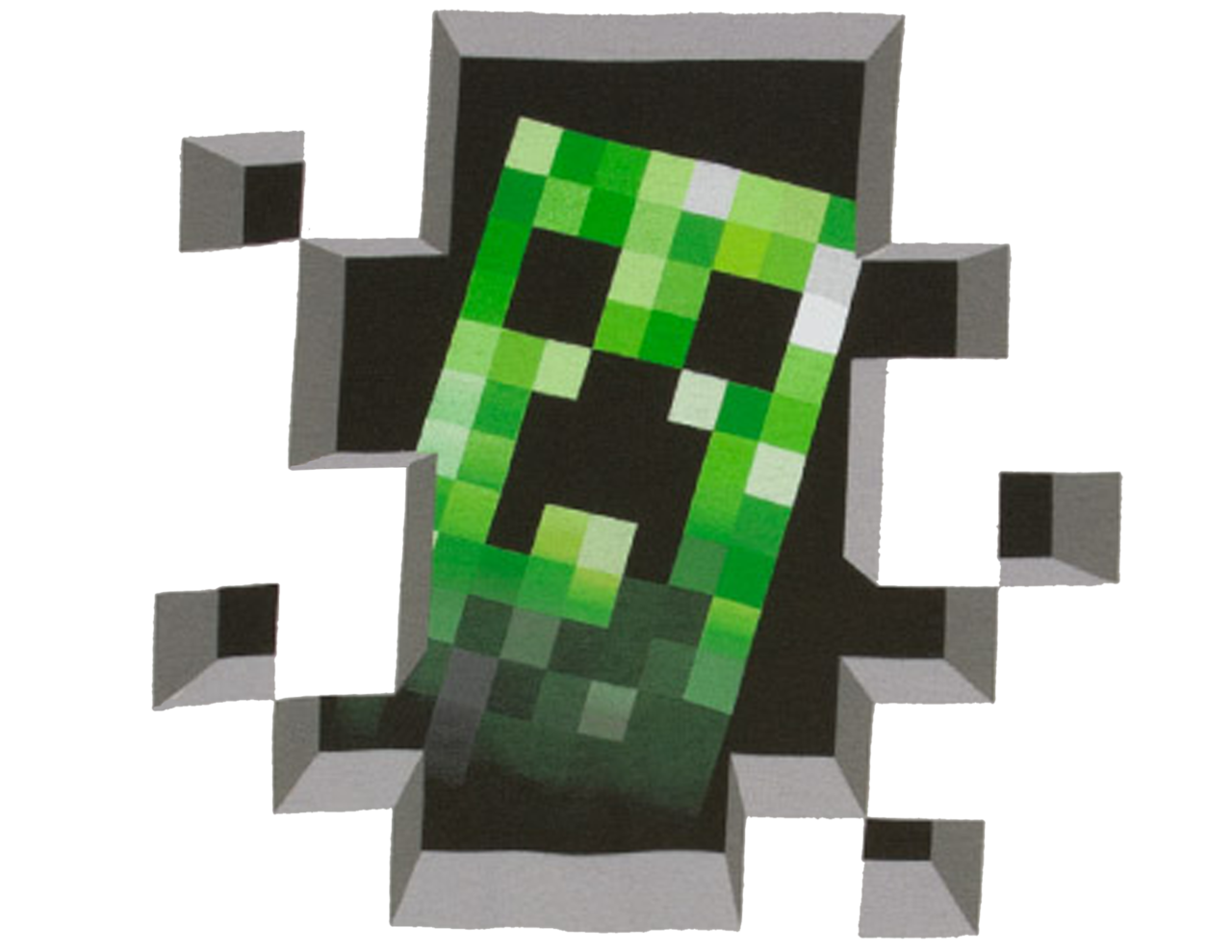 Creeper background png. Transparent mart