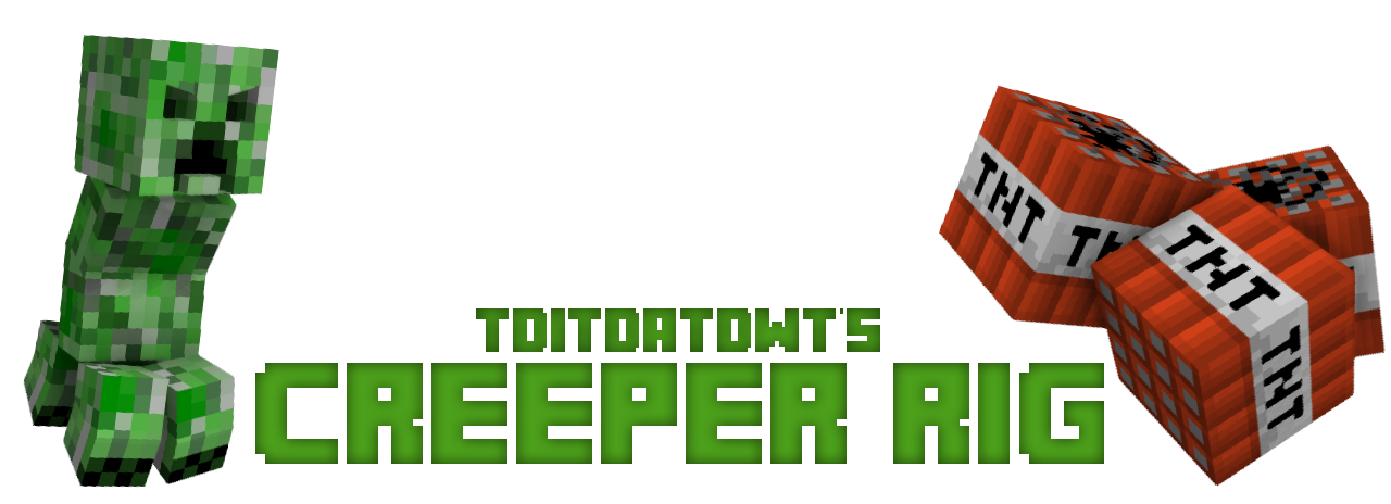 Creeper logo png. Rig by tditdatdwt rigs
