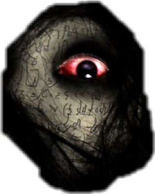 Creepy eye png. Grudge scary horror blood