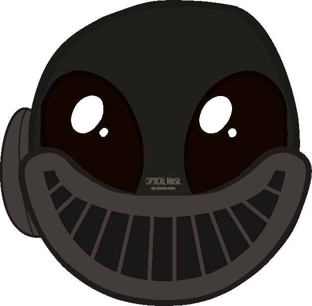 Creepy face png. Pyro s by erichgrooms