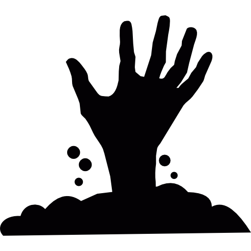 Creepy hand png. Icon svg