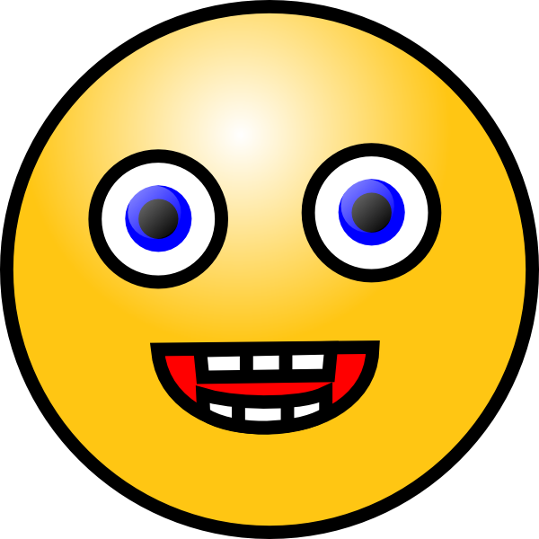 Creepy smiley face png. Clipart pencil and in