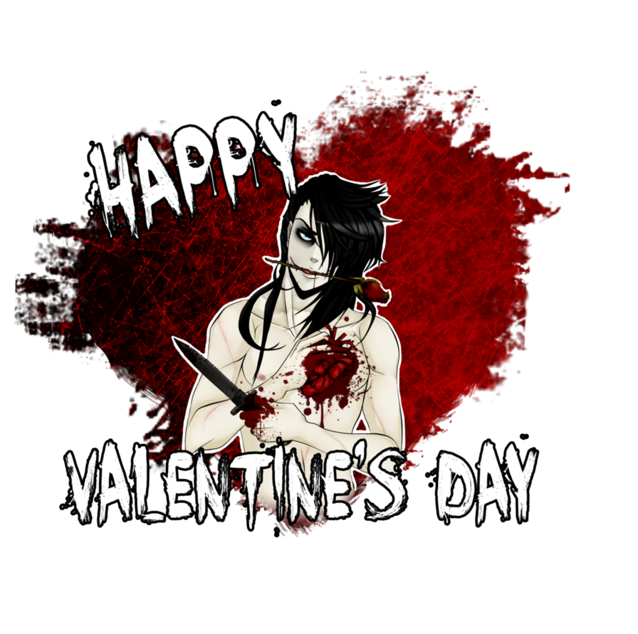 Creepy valentine png. Happy and s day